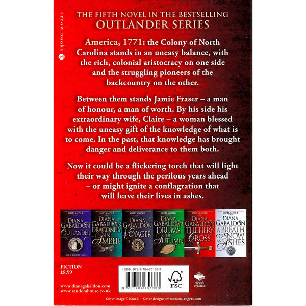 Diana Gabaldon - Outlander 5 - The Fiery Cross back cover