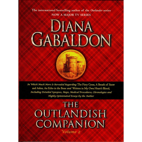 Outlander Author - Diana Gabaldon - The Outlandish Companion Vol 2 front cover