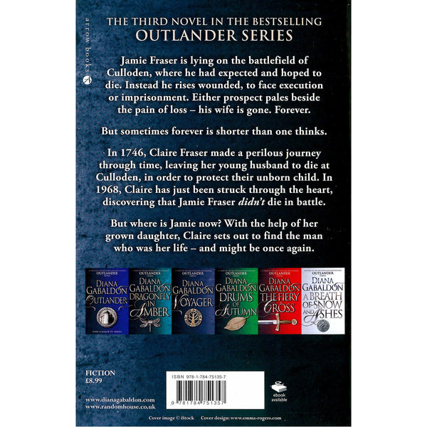 Diana Gabaldon Outlander Series - Voyager back cover