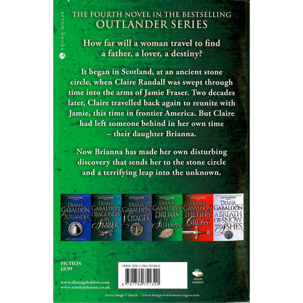 Diana Gabaldon - Drums Of Autumn back cover