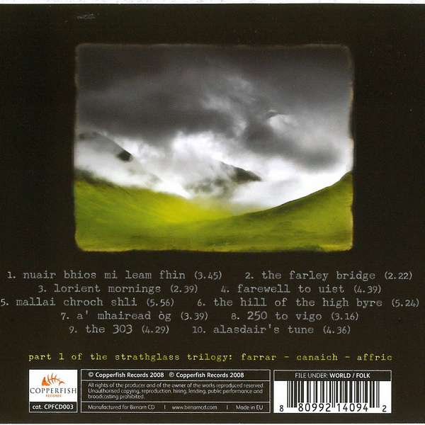 Duncan Chisholm - Farrar CD back