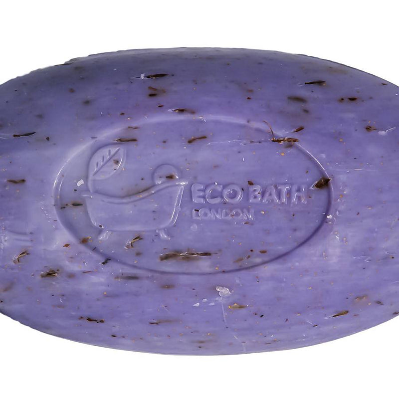 Eco Bath London Organic Soap On A Rope - Lavender close-up