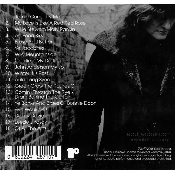 Eddi Reader - The Songs of Robert Burns (Deluxe edition) CD back