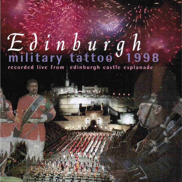 Edinburgh Military Tattoo 1998 CD front cover