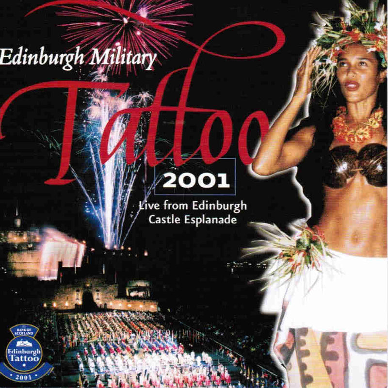 Edinburgh Military Tattoo 2001 CD front cover