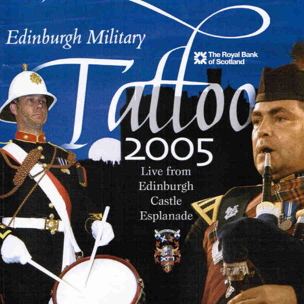 Edinburgh Military Tattoo 2005 CD front cover