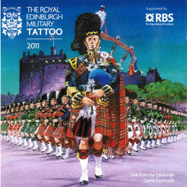 Edinburgh Military Tattoo 2011 CD front cover