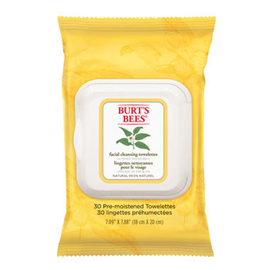 Burt's Bees White Tea Facial Cleansing Towelettes