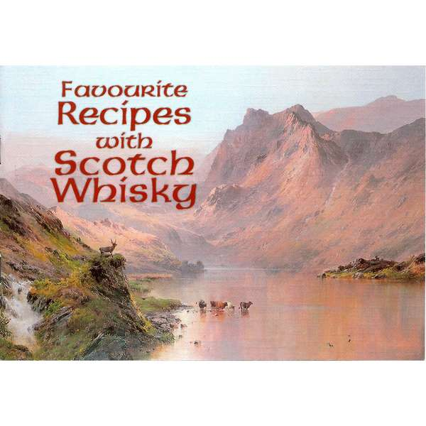 Favourite Recipes With Scotch Whisky by Margaret Ashby - book front