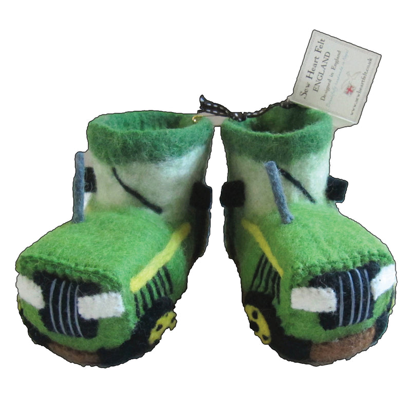 Fergie Tractor Children's Slippers