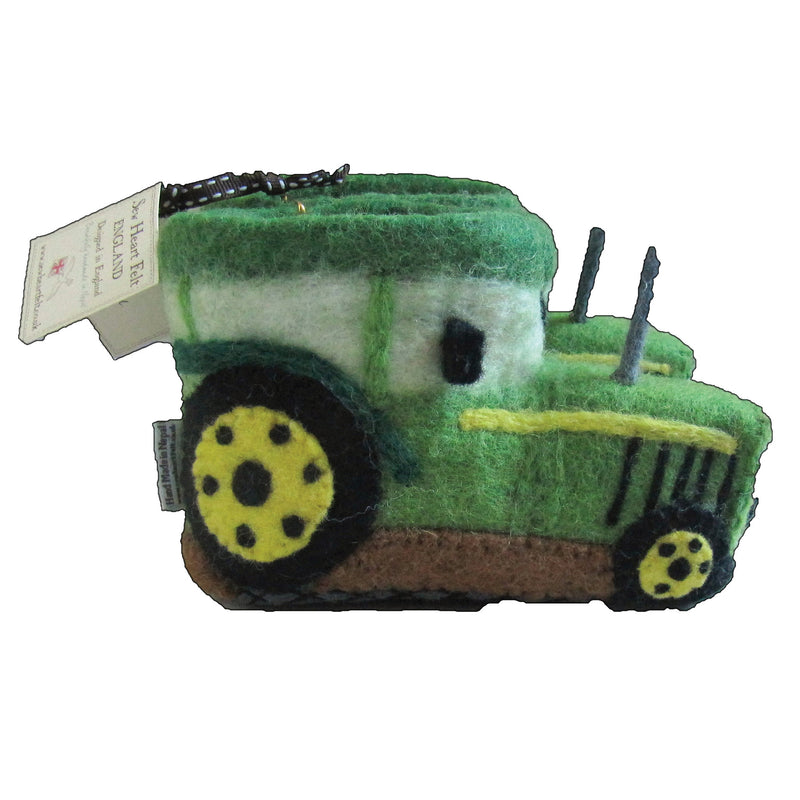 Fergie Tractor Children's Felt Slippers side