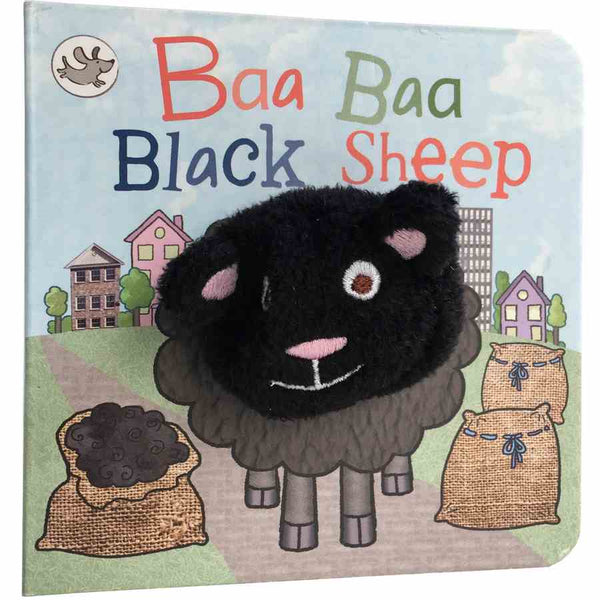 Finger Puppet Chunky Book -  Baa Baa Black Sheep front