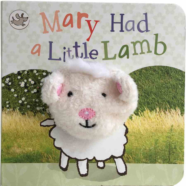 Finger Puppet Chunky Book -  Mary Had A Little Lamb front