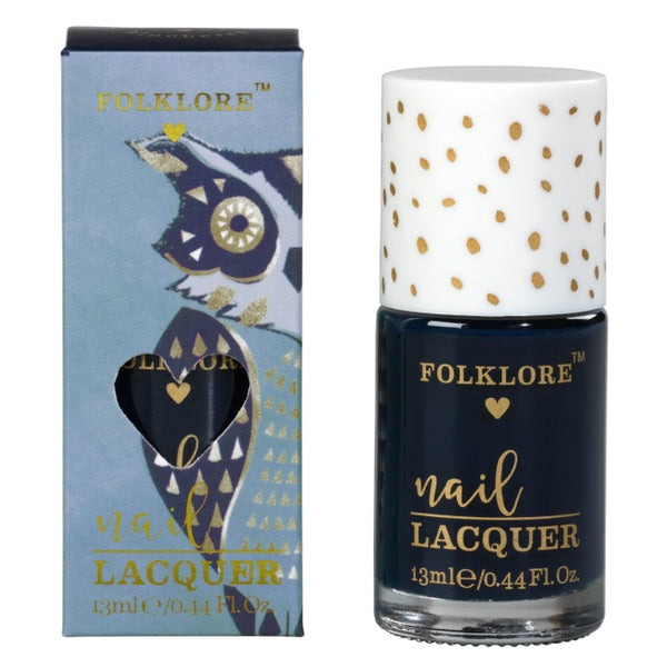 Folklore Rich Colour Nail Lacquer Blueberry