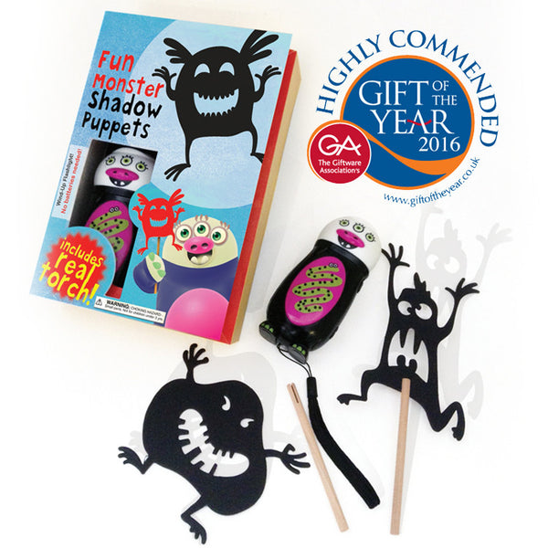 Monster Shadow Puppets Kit