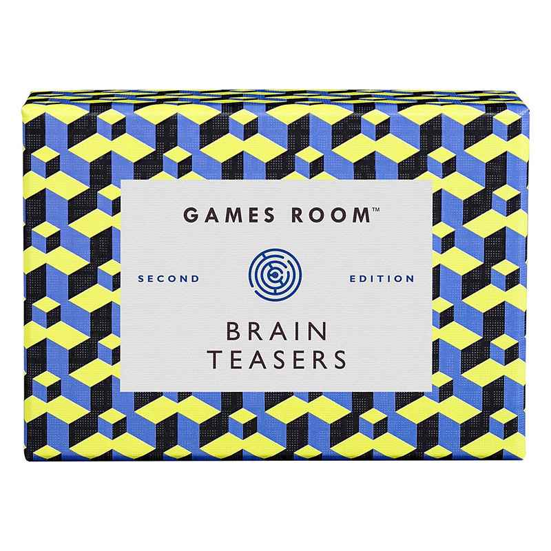 Games Room Brain Teasers Trivia Quiz GAM077 front
