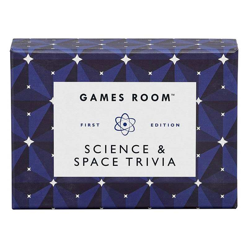 Games Room Science & Space Trivia Quiz GAM117 front