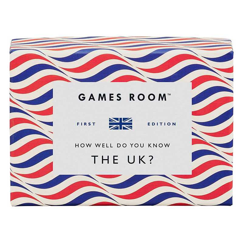 Games Room UK Trivia Quiz How Well Do You Know The UK GAM116 front