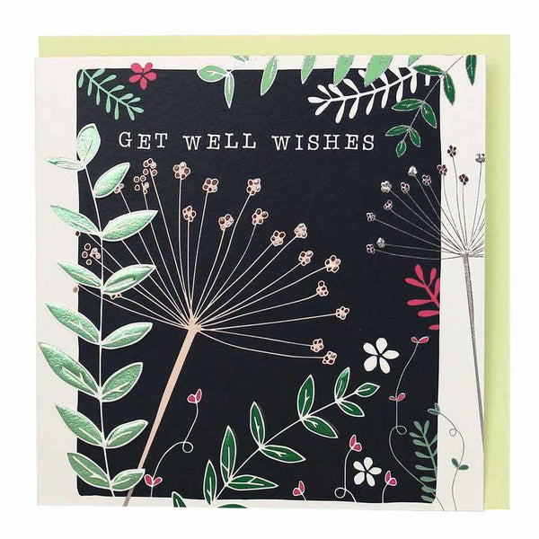 Get Well Wishes card BG13