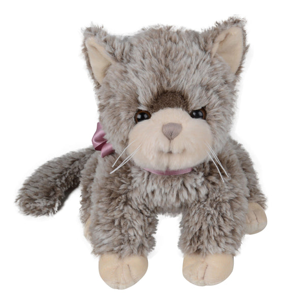 Bukowski Bears - Soft Toy Kitten - Gilbert with purple bow