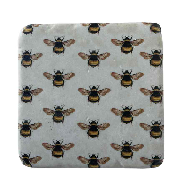 Gisela Graham Bees Resin Coaster
