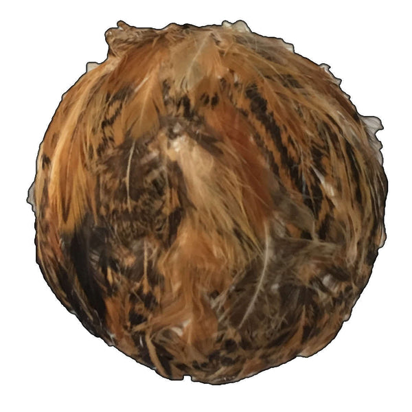 Gisela Graham Feather Ball Hanging Decoration