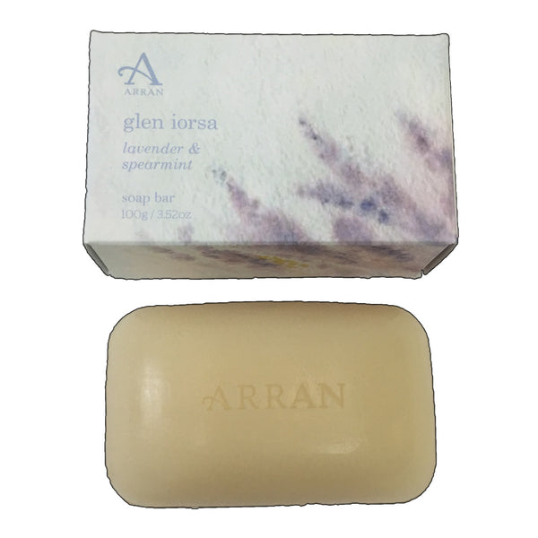 Arran Glen Iorsa Soap in Carton 100g