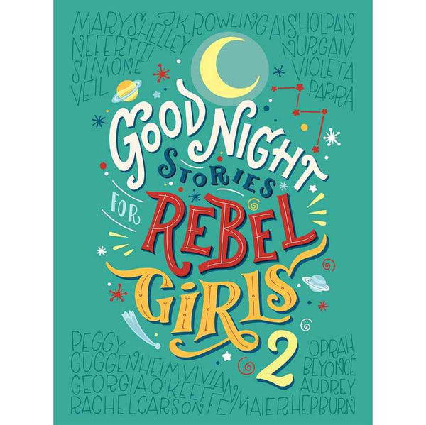 Good Night Stories For Rebel Girls 2 front cover