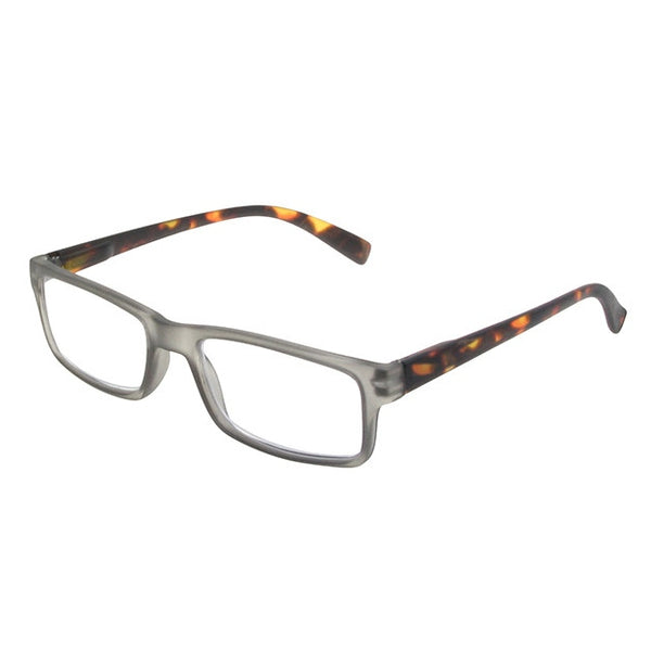 Goodlookers Alex Grey & Tortoiseshell Reading Glasses GL2271 side