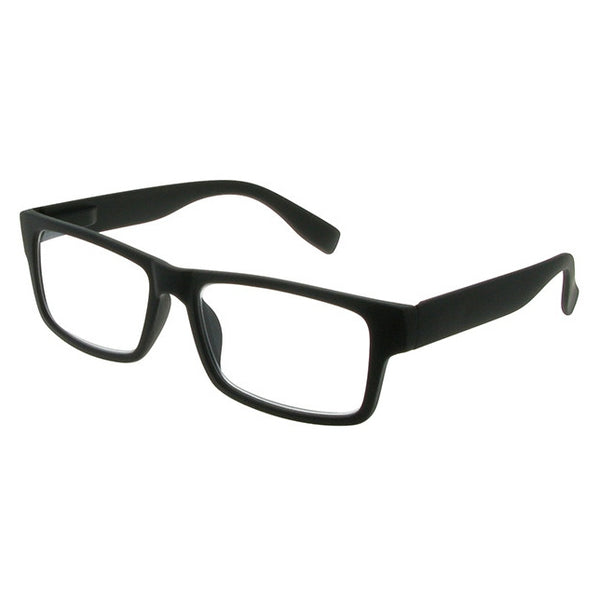 Goodlookers Logan Reading Glasses Matt Black GL2265 side