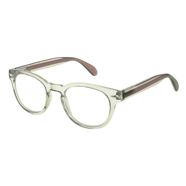 Goodlookers Metro Transparent Reading Glasses GL2221 side