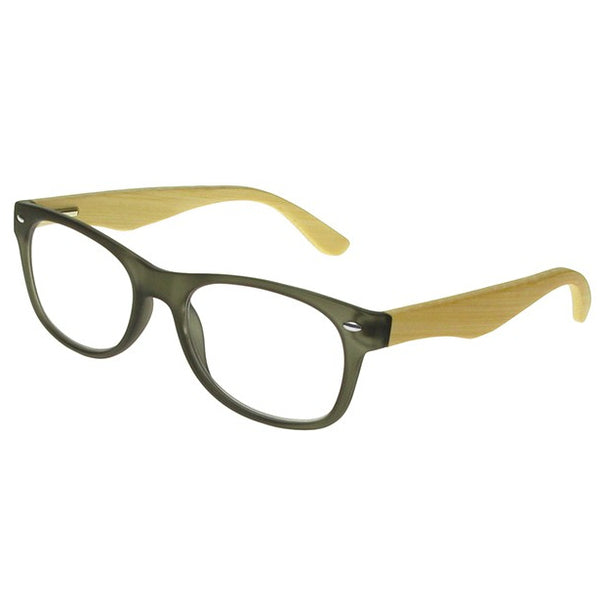 Goodlookers Reading Glasses Oakland Grey gl2220 side