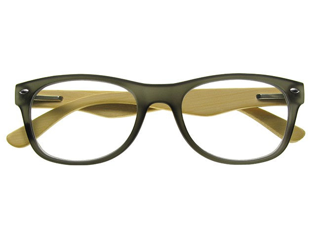 Goodlookers Reading Glasses Oakland Grey gl2220 front