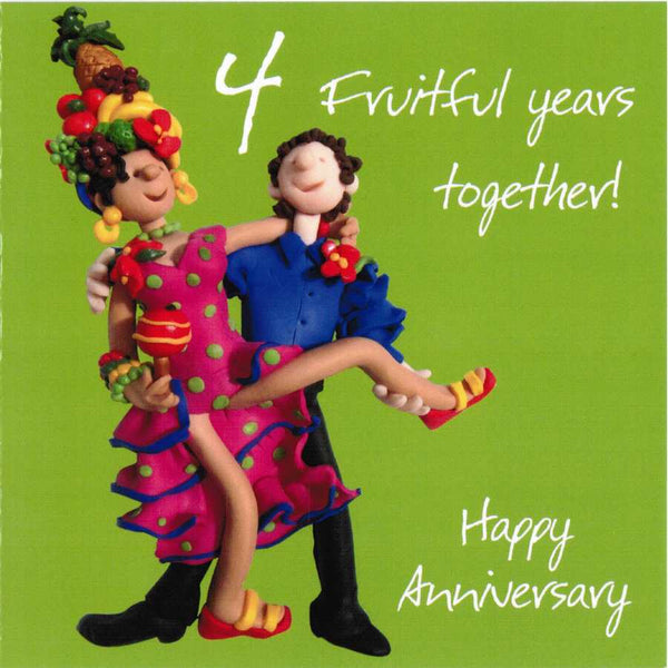 Happy Anniversary - 4 Fruitful Years Together