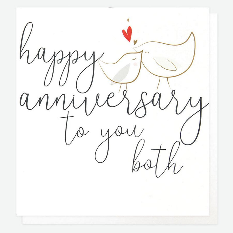 Happy Anniversary To You Both Card GNG013