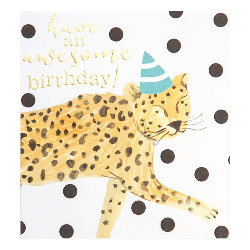 Have An Awesome Birthday card PAI009