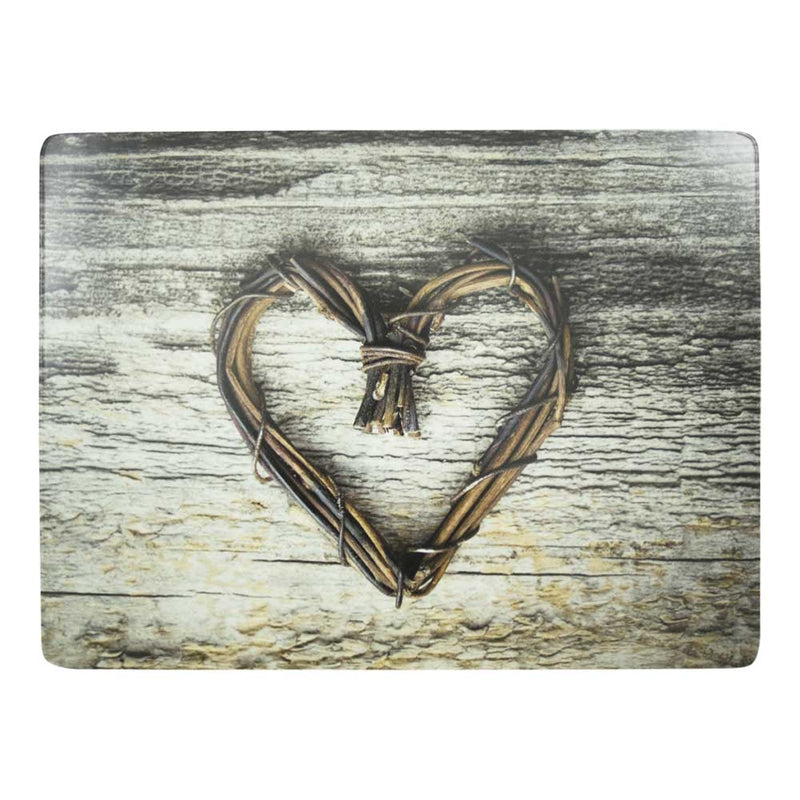 Heart Twig Placemat front