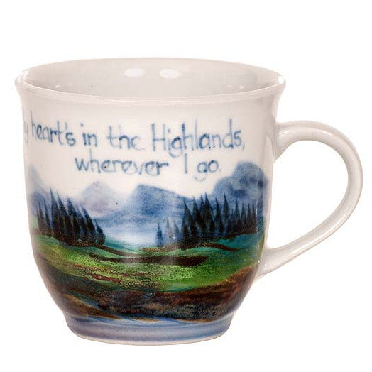 My Hearts In The Highlands Mug