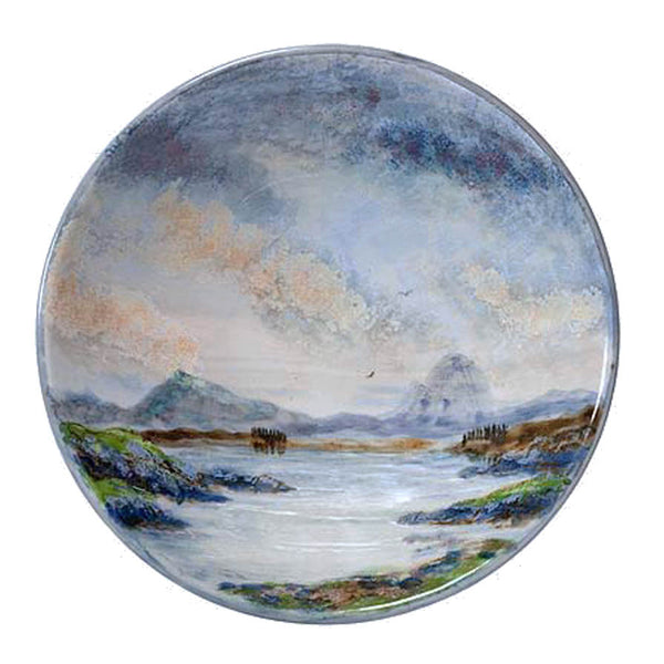 Highland Stoneware Landscape Large Flared Bowl 0630LS