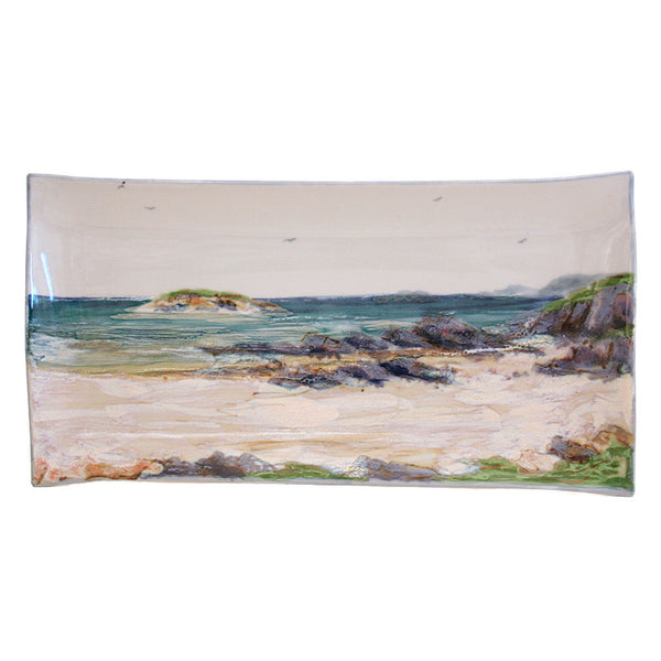 Highland Stoneware Seascape 34cm Rectangle Plate 1721SS