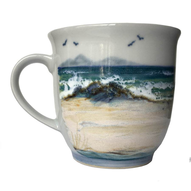 Highland Stoneware Mum Mug 425 Seascape back