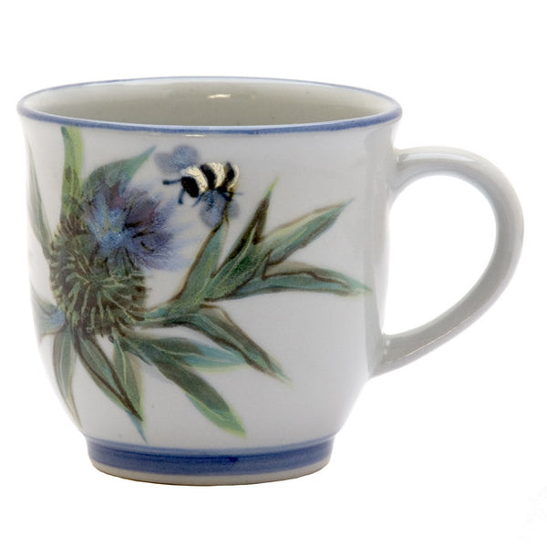 Highland Stoneware Thistle Mug 425 0607TH