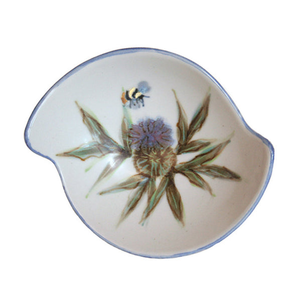 Highland Stoneware Thistle Quaich 0522TH