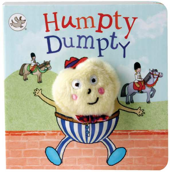 House Of Marbles Humpty Dumpty Finger Puppet Chunky Book 401730