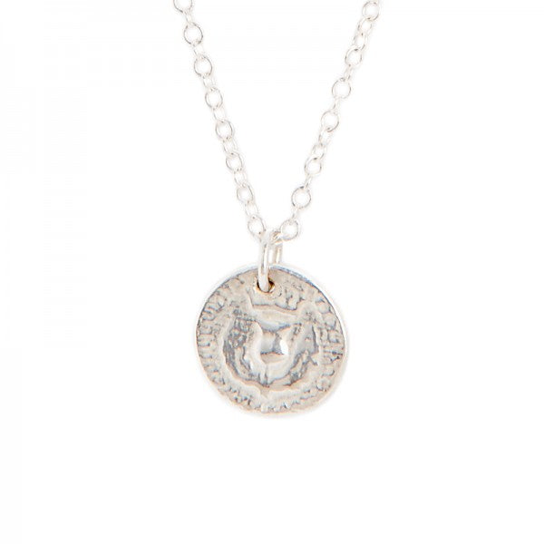 I Love A Lassie Bawbee Coin Silver Necklace