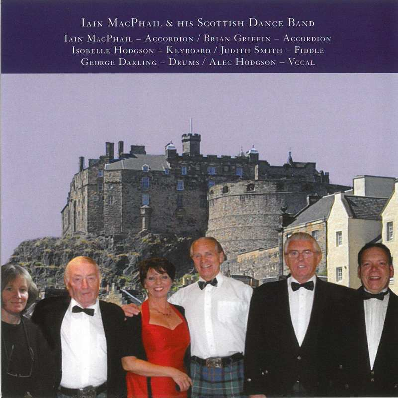 Iain MacPhail & His Scottish Dance Band - From Scotland To Saitama CD booklet back
