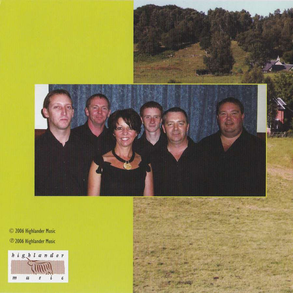 Ian Hutson & His Scottish Dance Band - Let's Celebrate CD booklet back