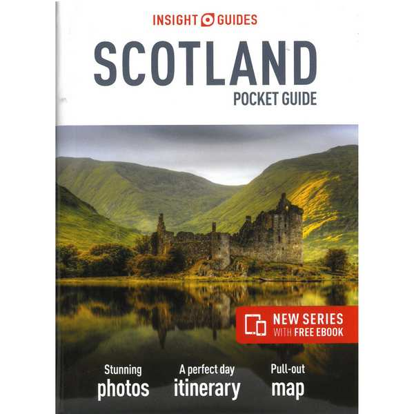Insight Guides Scotland Pocket Guide front