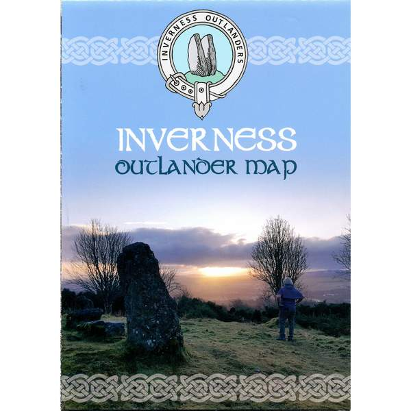 Inverness Outlander Map front