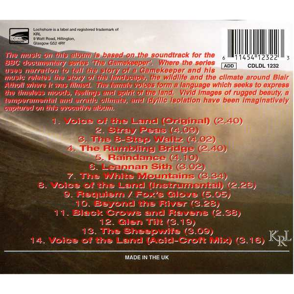 Iron Horse - Voice of The Land - CD Cover Back